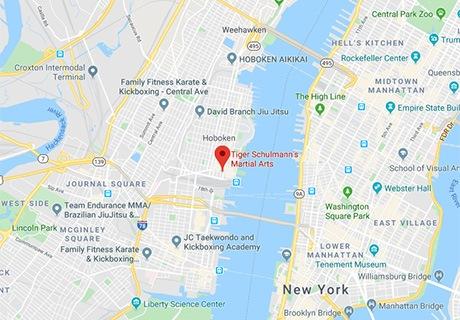 Tiger Schulmann's Martial Arts | Hoboken Map