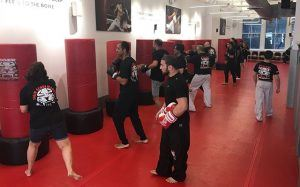 Tiger Schulmann's Martial Arts | Men Training With Punching Bags