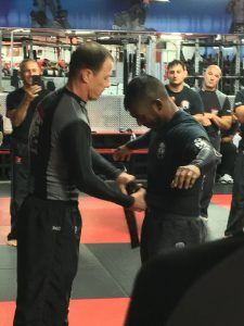 Tiger Schulmann's Martial Arts | Man Ties Belt To Another Man
