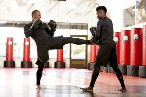 Tiger Schulmann's Martial Arts   Man Kicking