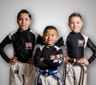 Tiger Schulmann's Martial Arts | Children Posing