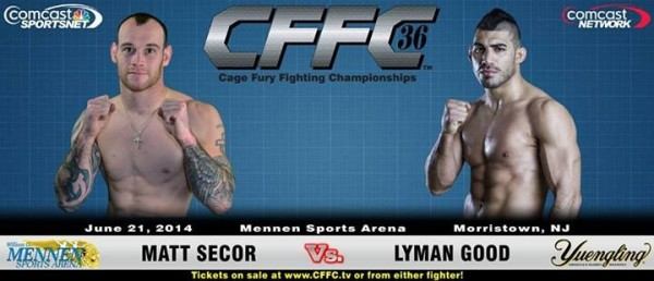 Tiger Schulmann's Martial Arts | Matt Secor vs. Lyman Good Banner