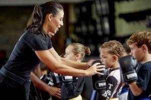 Tiger Schulmann's Martial Arts   Woman Teaching