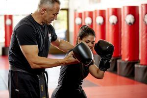 Tiger Schulmann's Martial Arts | Man Training Woman