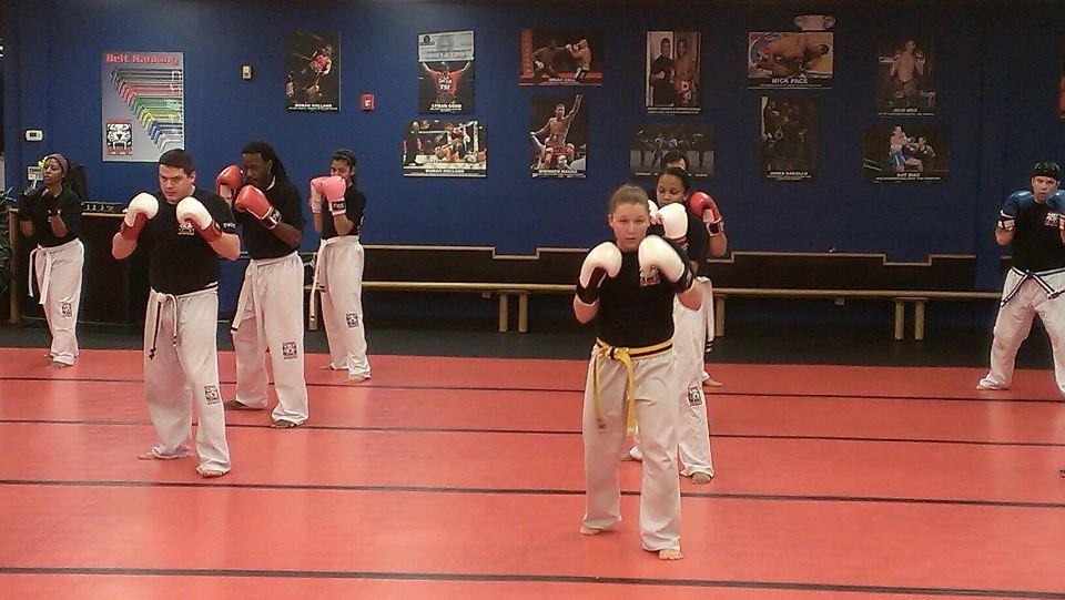 Tiger Schulmann's Martial Arts | Training on Red Floor