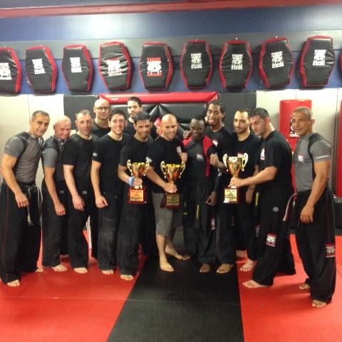 Tiger Schulmann's Martial Arts | Men with Trophies