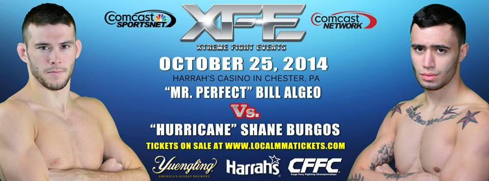 Tiger Schulmann's Martial Arts | Bill Algeo vs. Shane Burgos Banner