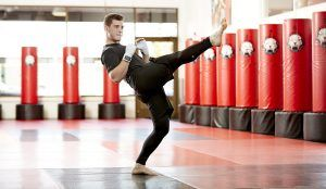 Tiger Schulmann's Martial Arts | Man Kicking
