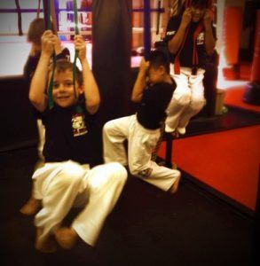 Tiger Schulmann's Martial Arts | Kids Hanging On Ropes
