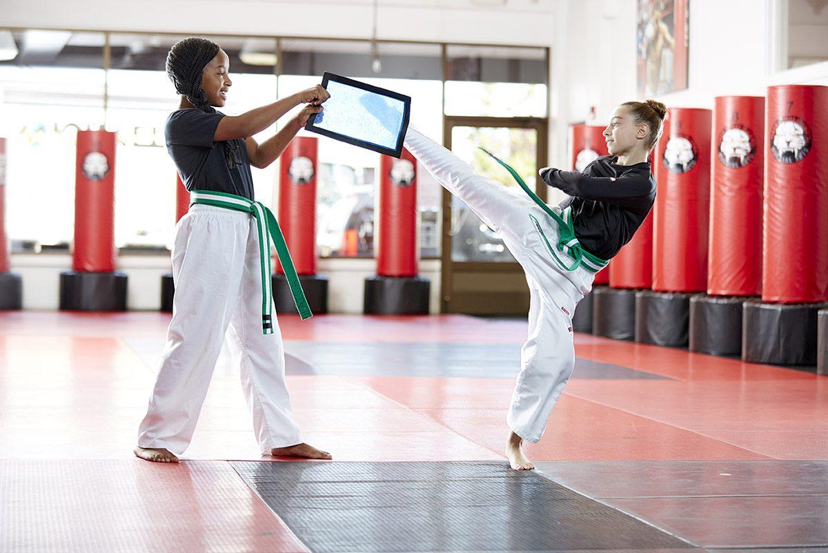 Tiger Schulmann's Martial Arts | Girl Kicking