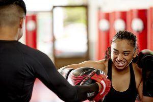 Tiger Schulmann's Martial Arts   Woman Punching