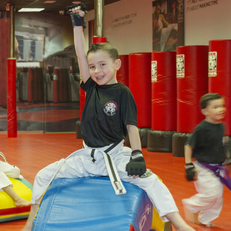 Tiger Schulmann's Martial Arts | Boy Raising Hand