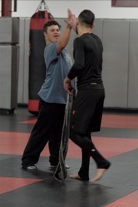 Tiger Schulmann's Martial Arts   otto-high-five