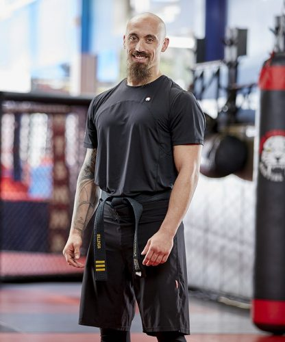 Tiger Schulmann's Martial Arts   TSMA Princeton Sensei Anthony Billings