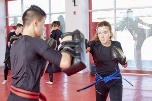 Tiger Schulmann's Martial Arts   Girl Punching