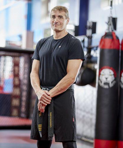 Tiger Schulmann's Martial Arts   TSMA Wayne Sensei Scott Zapfel