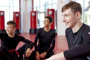 Tiger Schulmann's Martial Arts   Boys Smiles