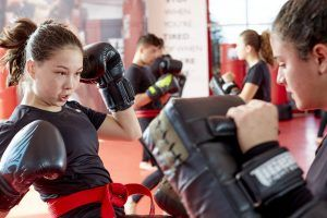 Tiger Schulmann's Martial Arts   Girl Kicking   TSMA-10191917305